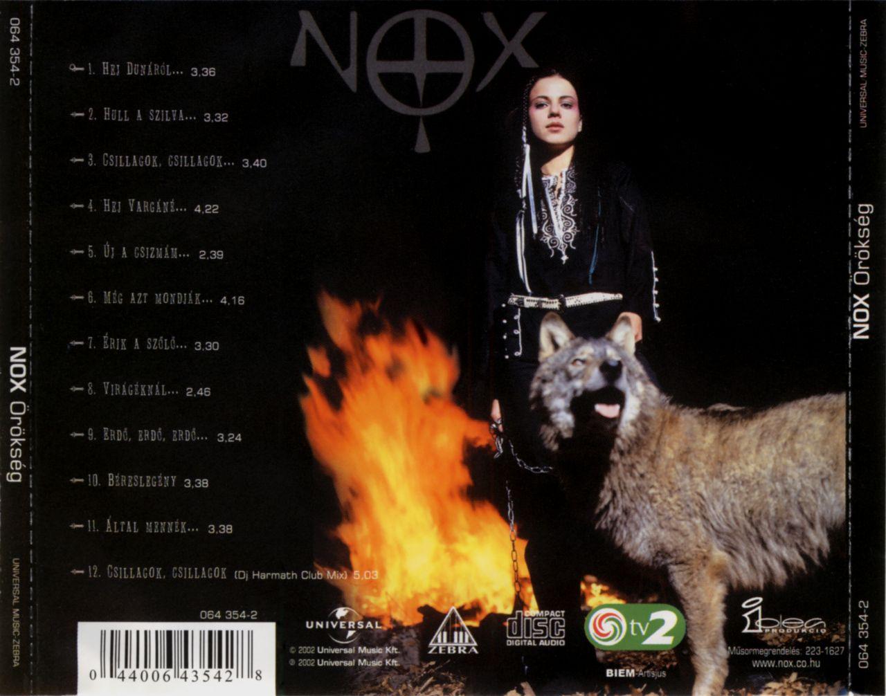 Nox: Örökség (CD)