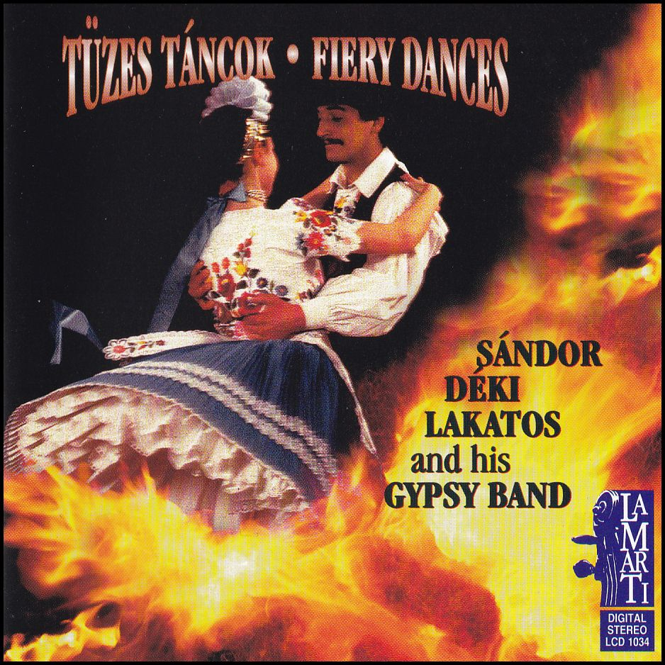 Tűzes táncok - Fiery Dances (CD)