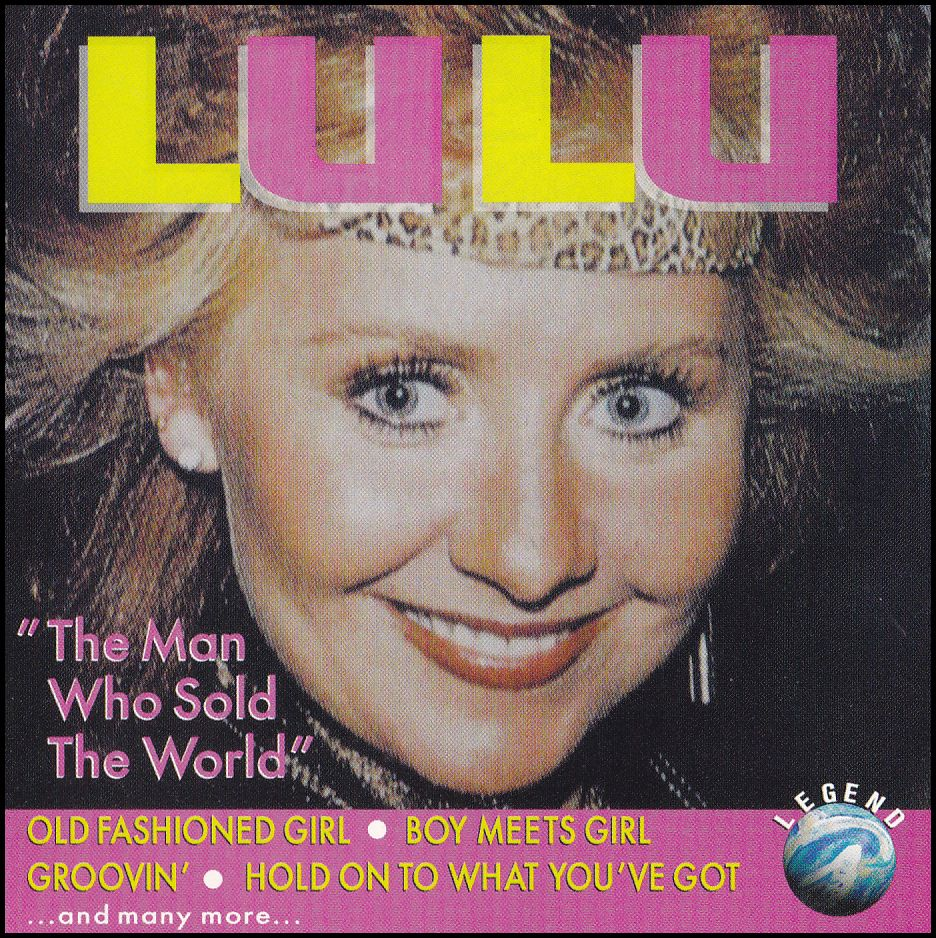 """Lulu: """"The Man Who Sold The World"""" (CD)"""