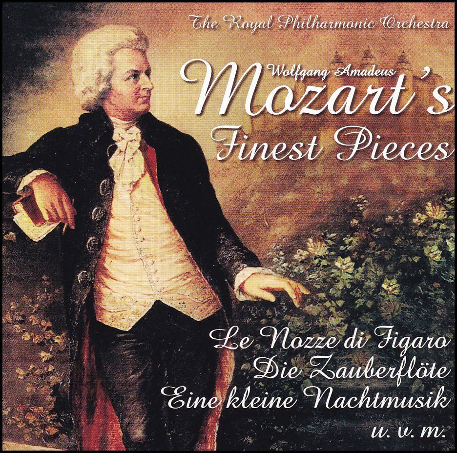 Mozart's Finest Pieces (CD)