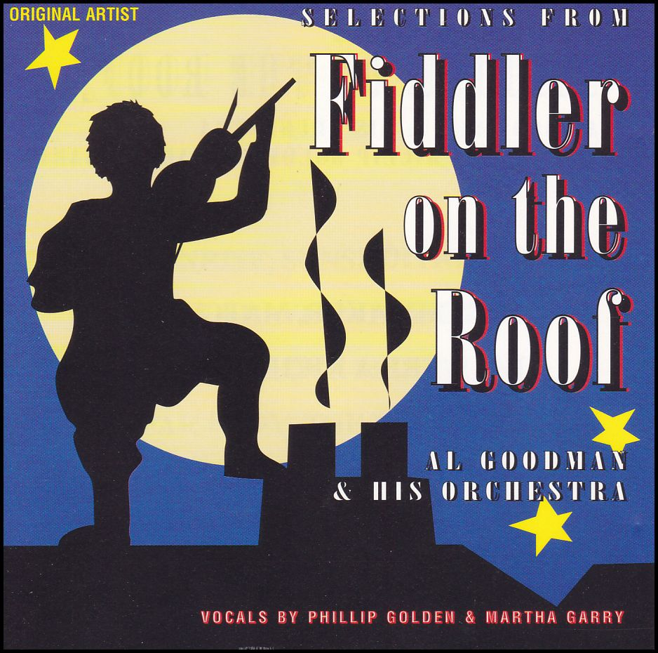 Al Goodman & His Orchestra: Selections From Fiddler On The Roof (CD)