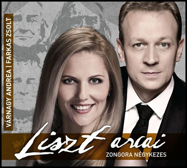Várnagy Andrea - Farkas Zsolt: Liszt arcai Zongara négyes (CD)