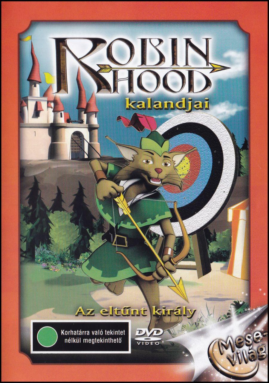 Robin Hood kalandjai (DVD)