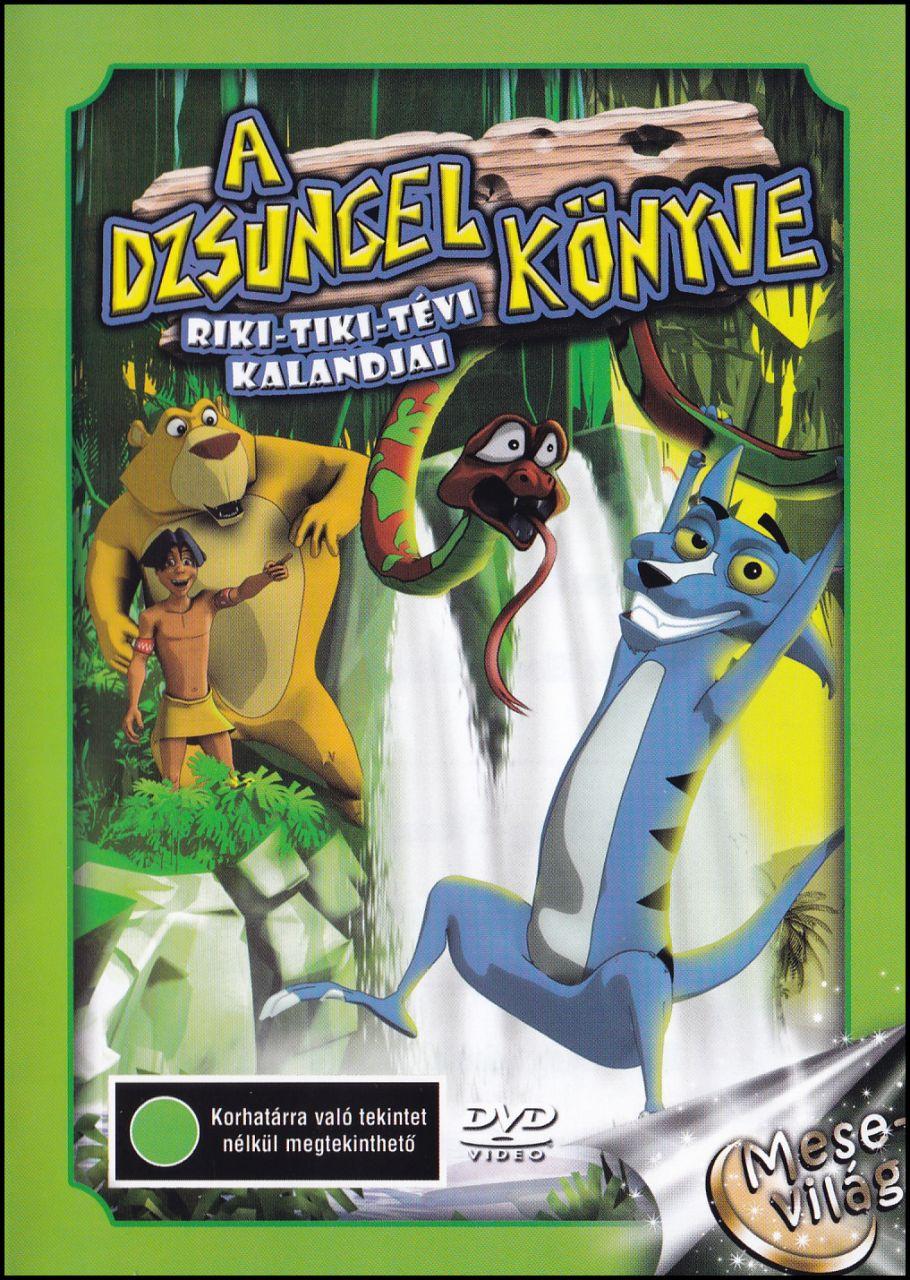 A dzsungel könyve Riki - Tiki - Tévi kalandjai (DVD)