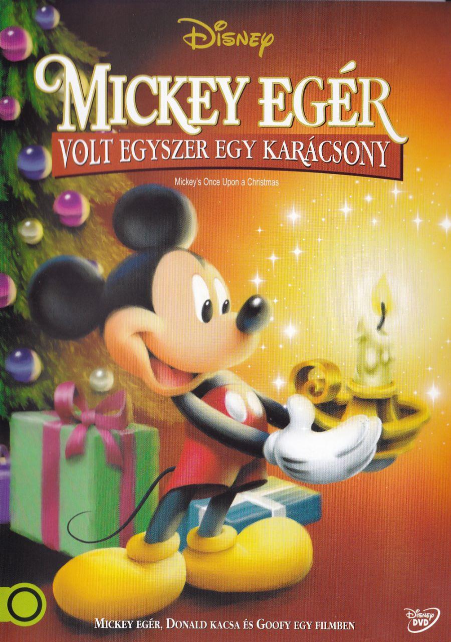 Mickey Egér: Volt egyszer egy karácsony (DVD)