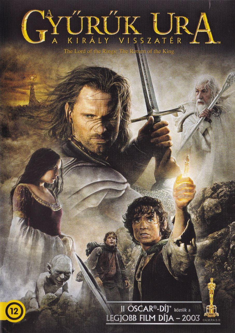 Gyűrűk ura: A király visszatér (DVD)