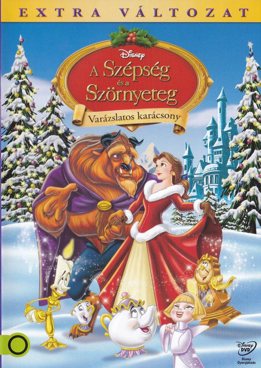 A Szépség és a Szörnyeteg: Varázslatos karácsony (DVD)