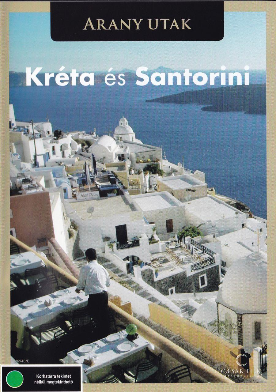 Kréta és Santorini (DVD)