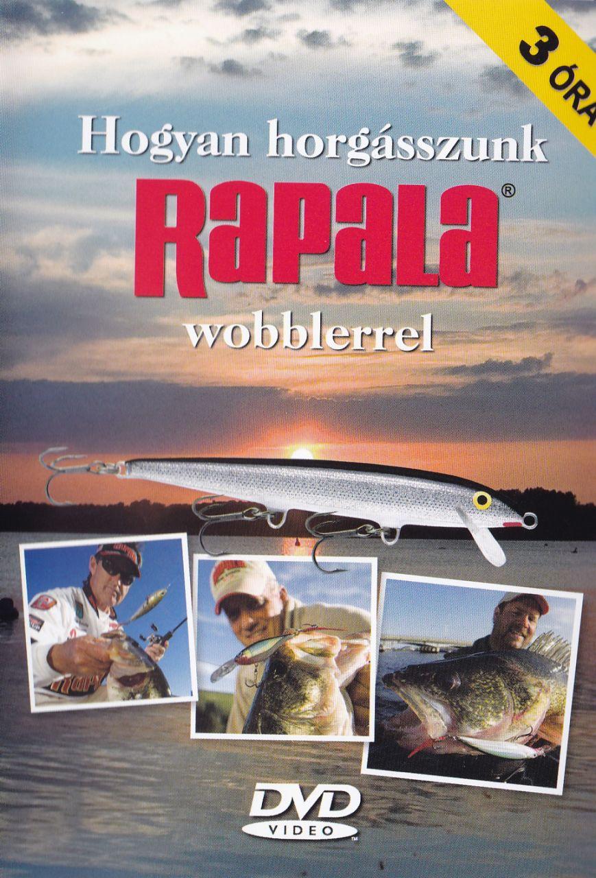 Hogyan horgásszunk Rapala wobblerrel (DVD)