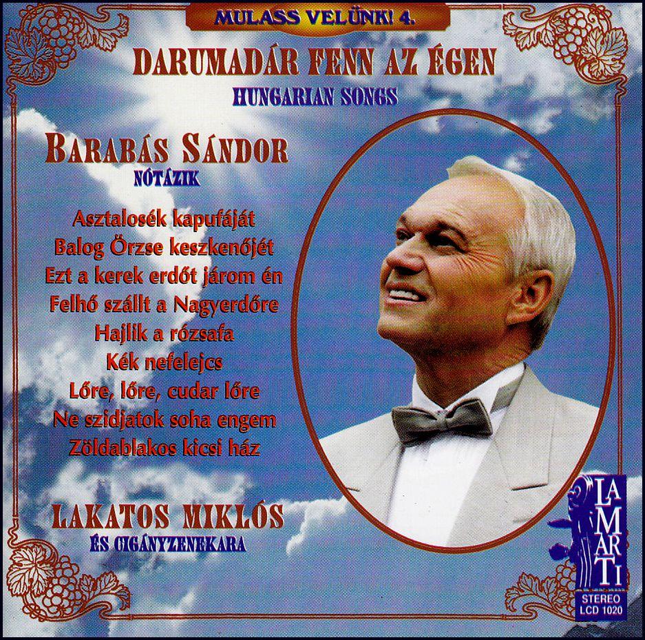 Barabás Sándor: Darumadár fenn az égen (CD)