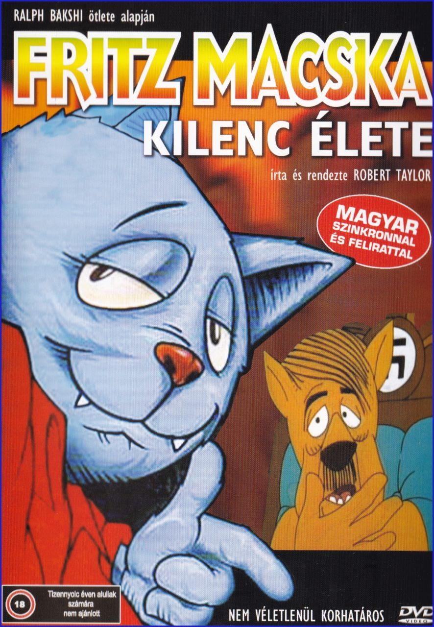 Fritz macska kilenc élete (DVD)