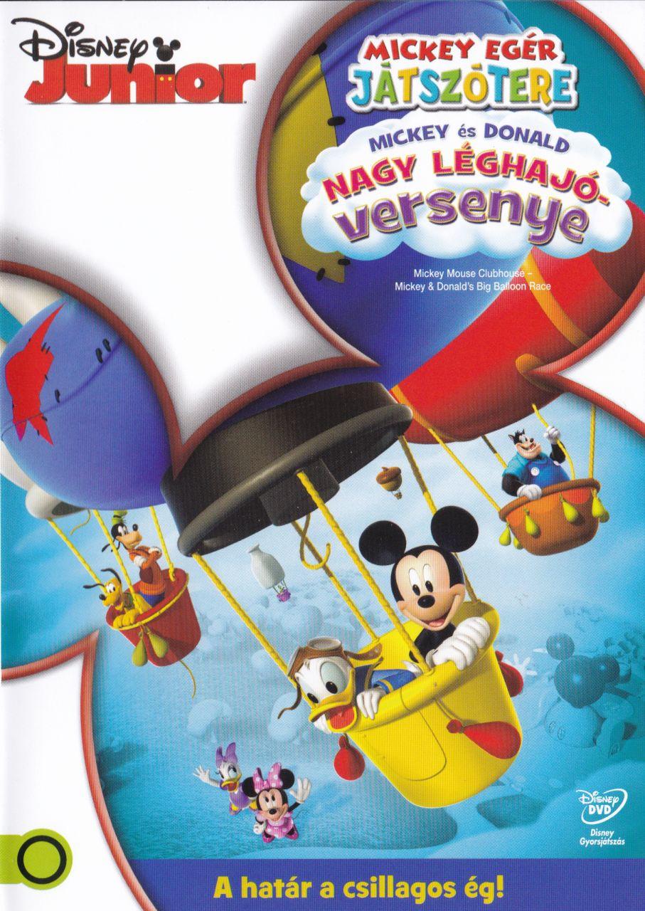 Mickey egér játszótere: Mickey és Donald nagy léghajóversenye (DVD)