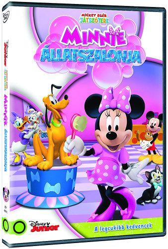 Mickey egér játszótere: Minnie állatszalonja (DVD)