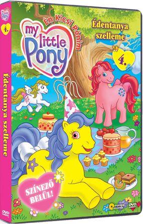 My little Pony - Én kicsi Pónim 4. - Édentanya szelleme (DVD)