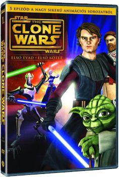 Star Wars: A klónok háborúja - 1. évad, 1. kötet (DVD)