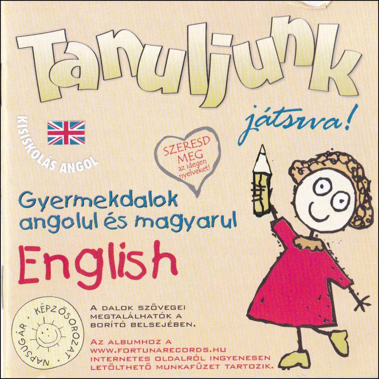 Tanuljunk játszva! Gyermekdalok angolul és magyarul (CD)