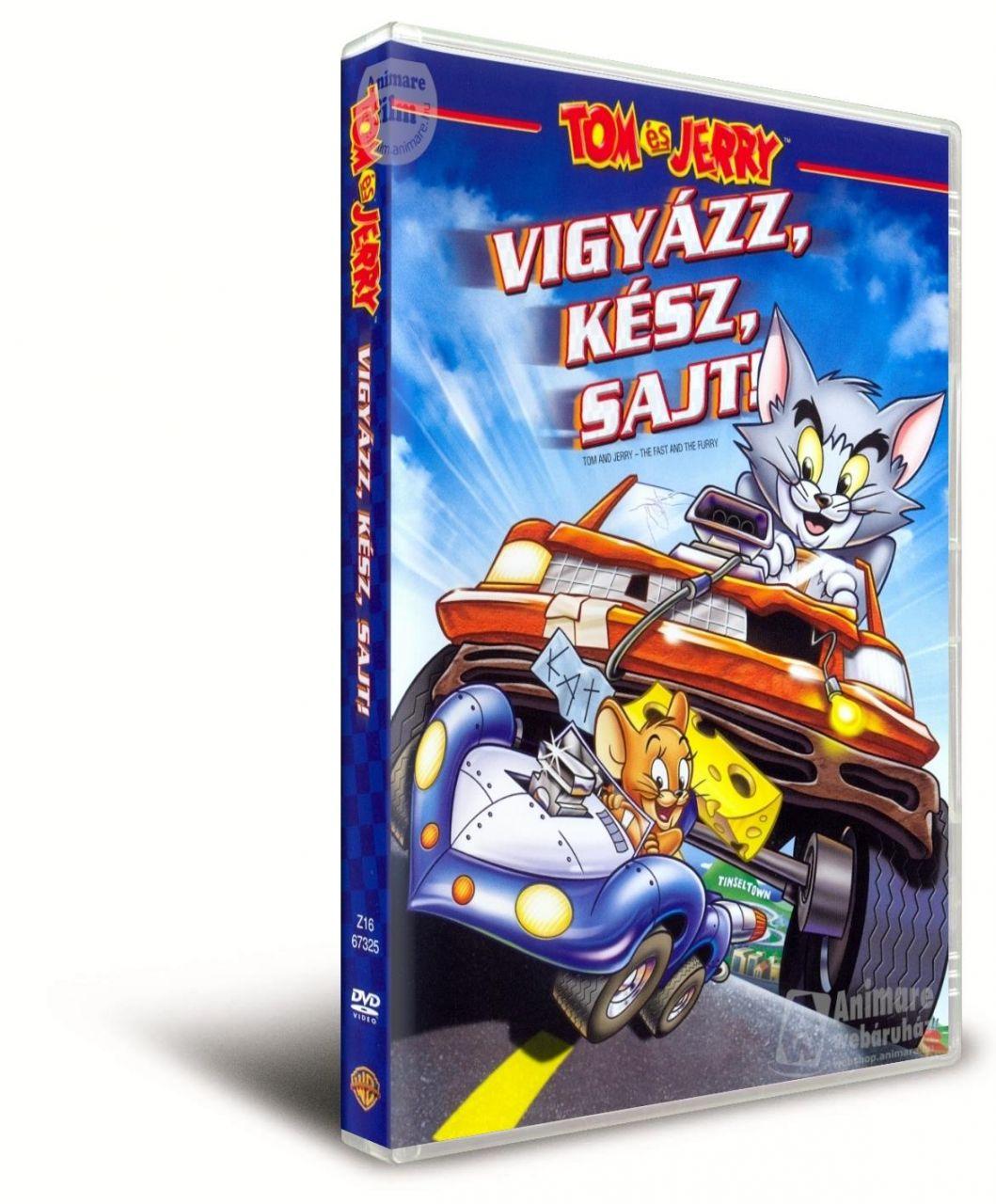 Tom és Jerry: Vigyázz, kész, sajt! (DVD)