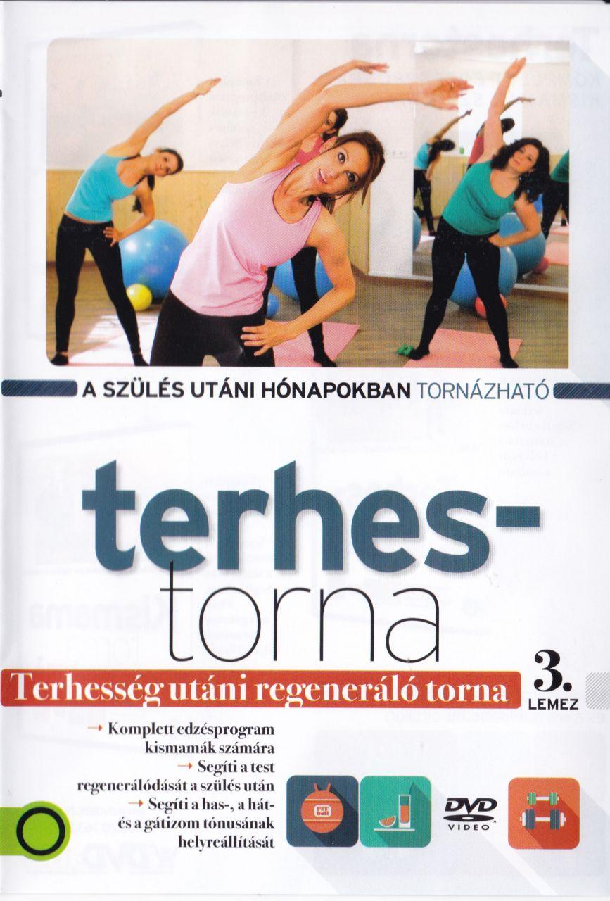 Terhestorna: Terhesség utáni regenáró torna 3 lemez (DVD)
