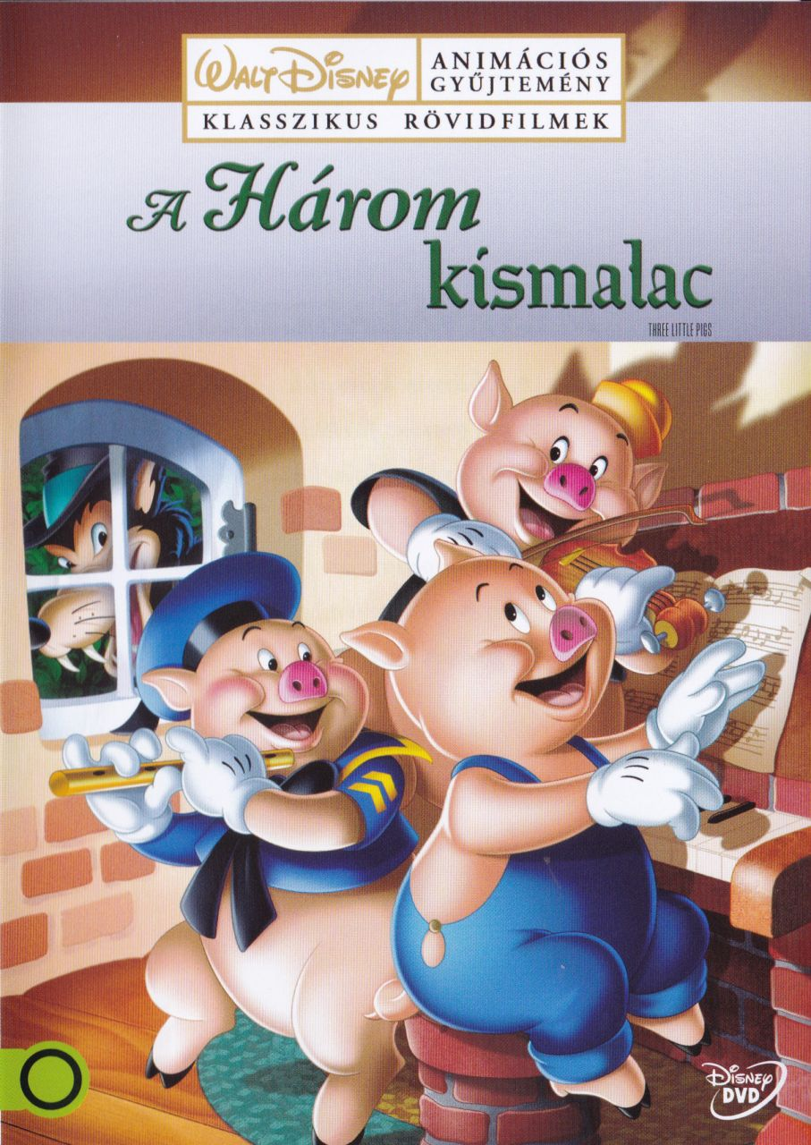 A három kismalac (DVD)