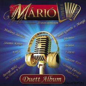 Márió - 15 éves jubileum - Duett album (CD)
