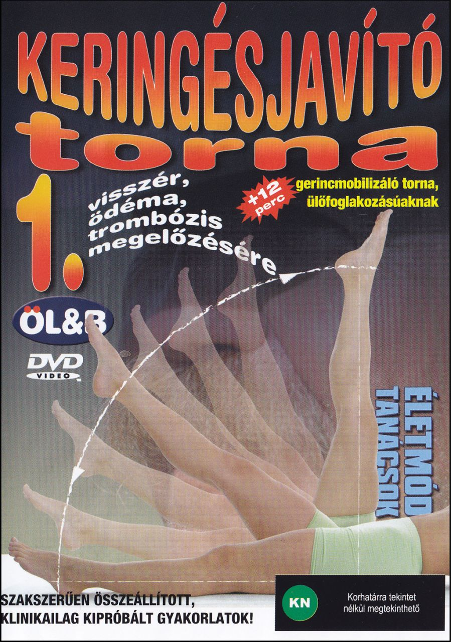 Keringésjavító torna 1. (DVD) visszér, ödéma, trombózis megelőzésére