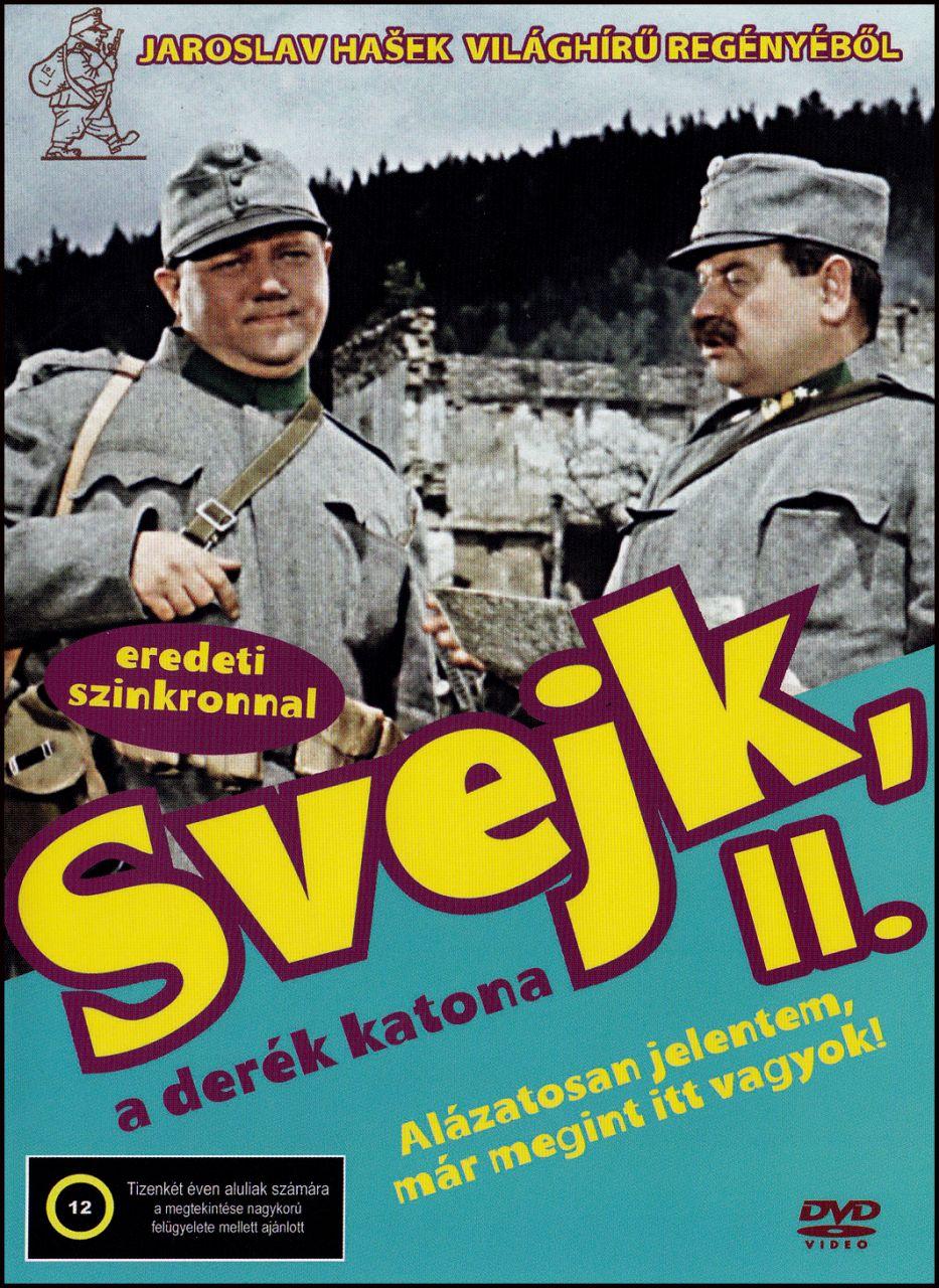 Svejk 2. – A derék katona (DVD)