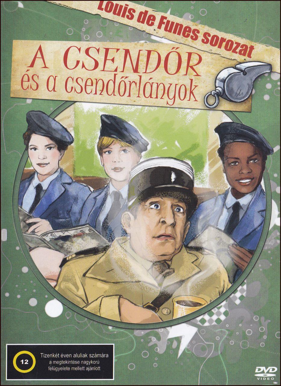 A csendőr és a csendőrlányok (DVD)