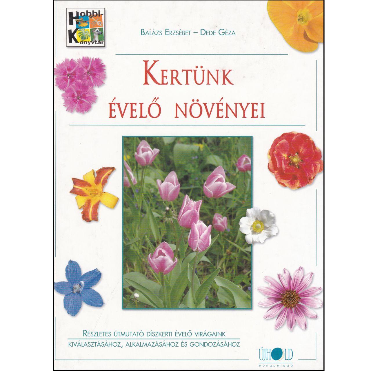 Kertünk évelő növényei (könyv)