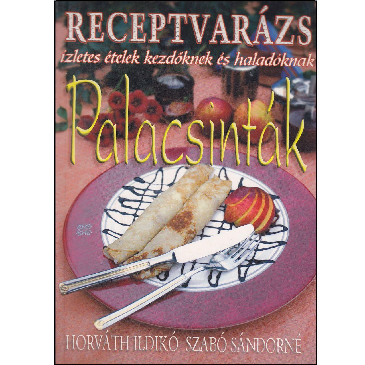 Receptvarázs - Palacsinták (könyv)