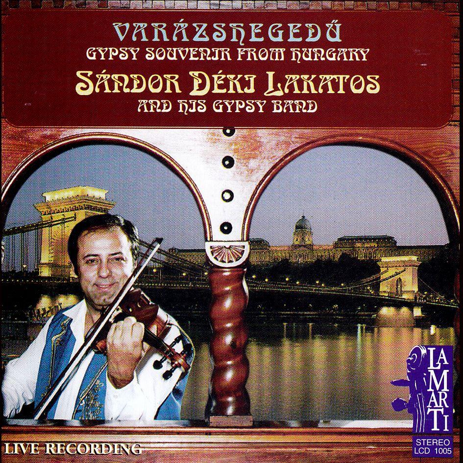 Déki Lakatos Sándor: Varázshegedű (CD)