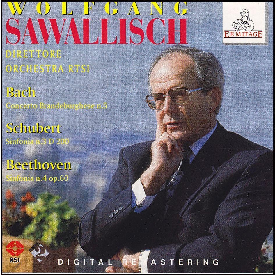 Bach – Schubert – Beethoven: Wolfgang Sawallisch (CD)