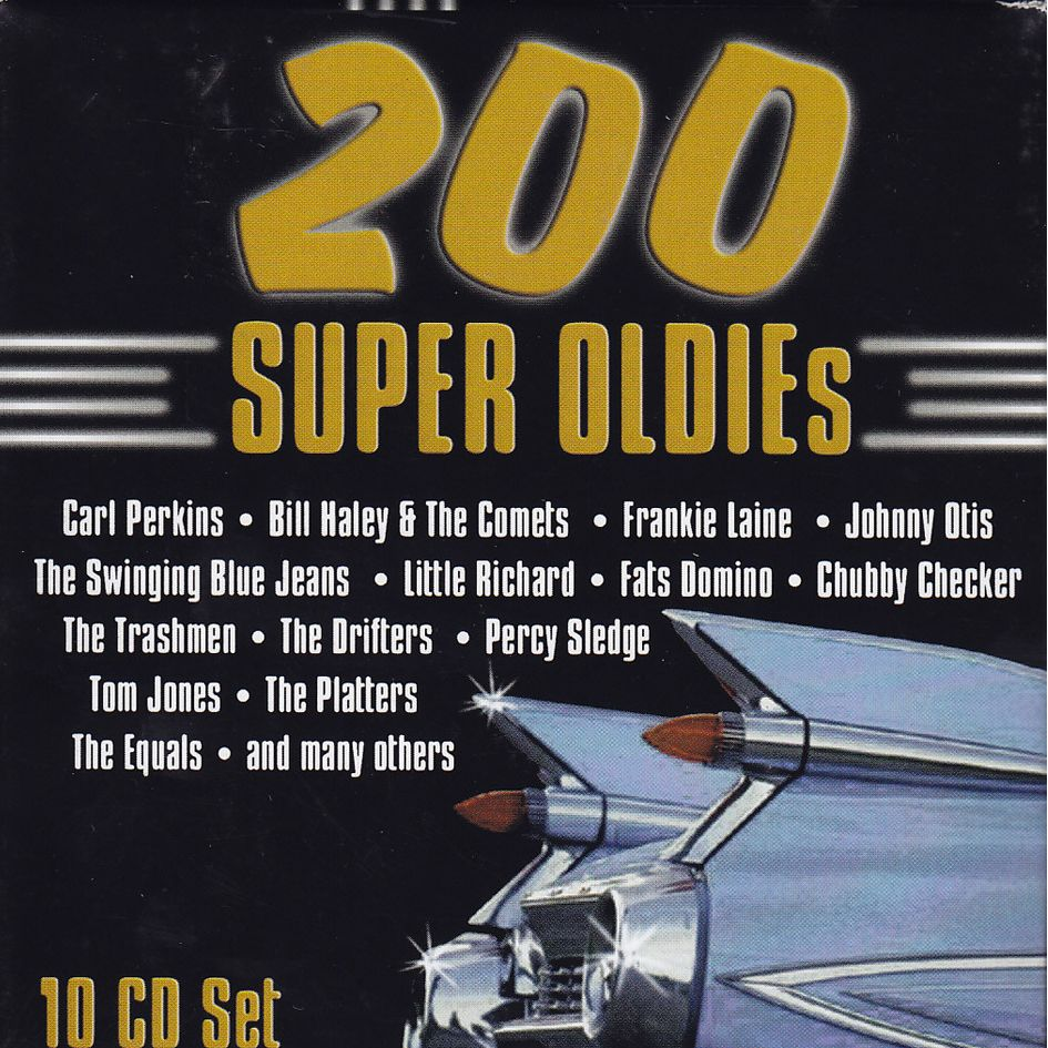 200 Super Oldie's (10CD)