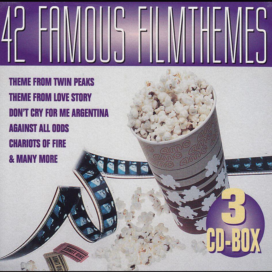 42 Famous Filmthemes (3CD)