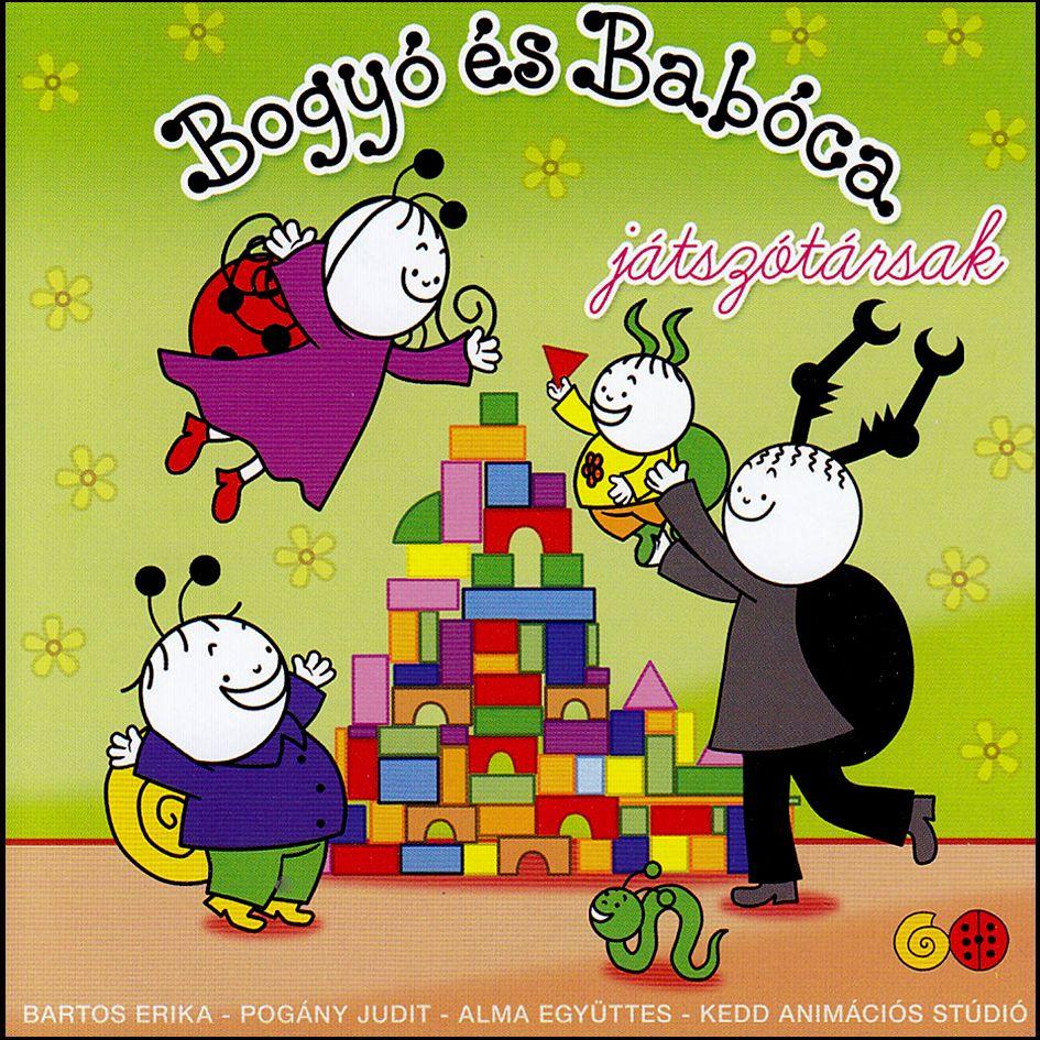 Bogyó és Babóca: Játszótársak - Hangoskönyv (CD)
