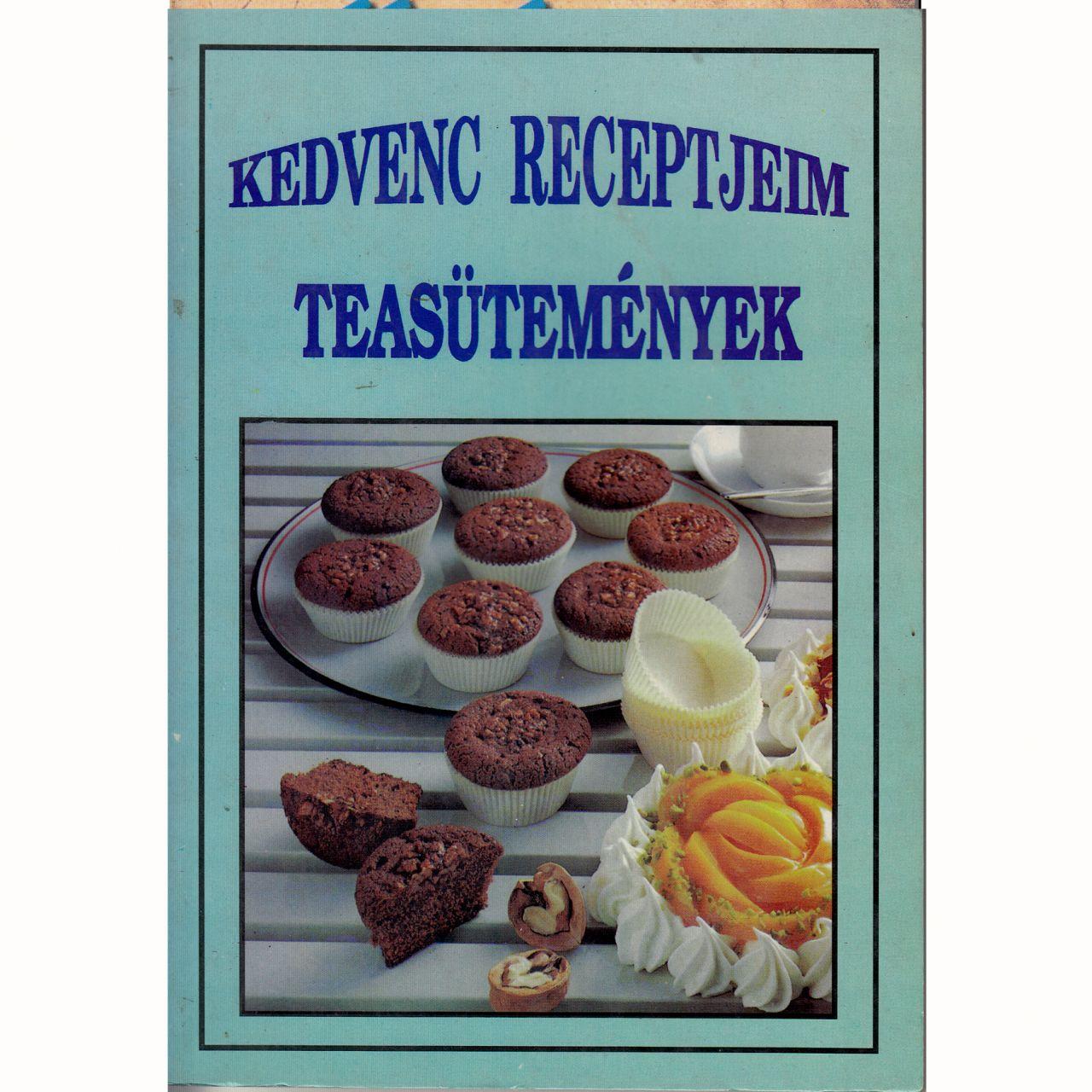 Kedvenc receptjeim: Teasütemények (könyv)