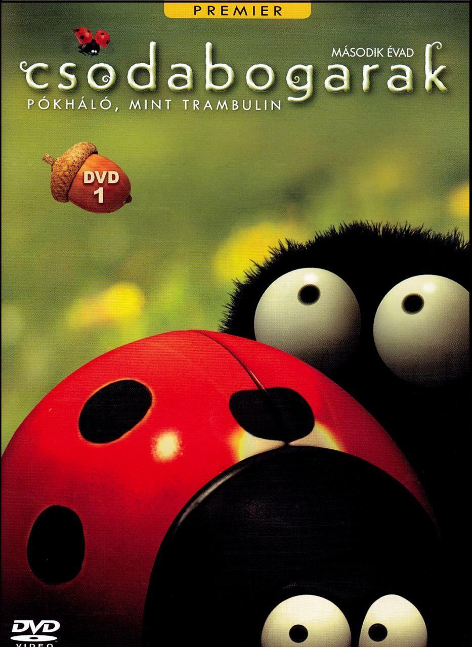 Csodabogarak – Pókháló, mint trambulin – 2. évad 1. lemez (DVD)