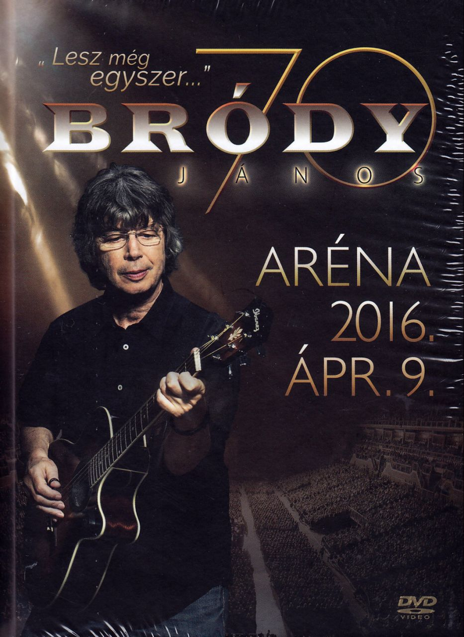 Bródy: Aréna 2016.04.09. DVD+2CD (DVD)