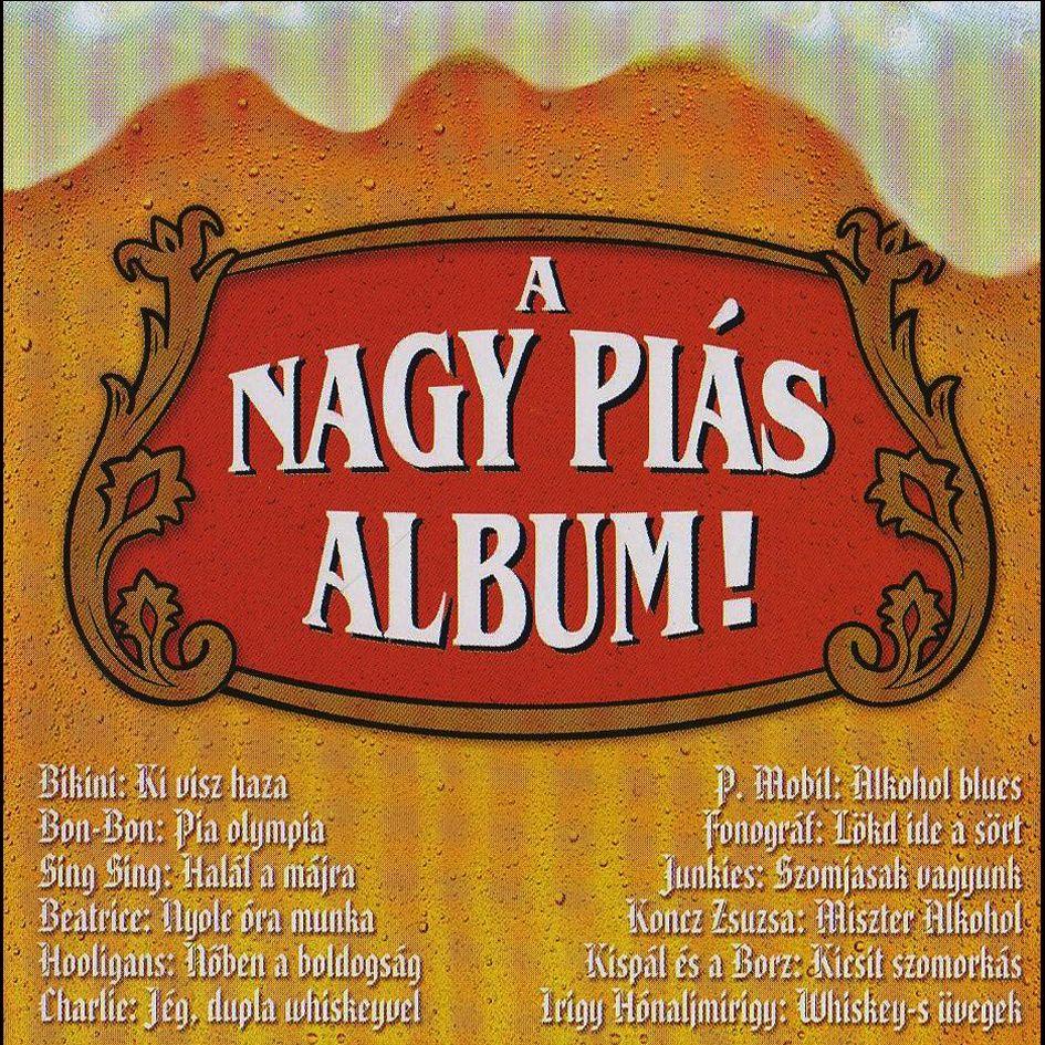 A nagy piás album (CD)