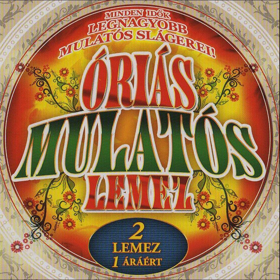 Óriás mulatós lemez (CD)