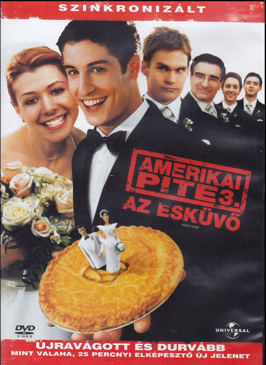 Amerikai pite 3. – Az esküvő (DVD)