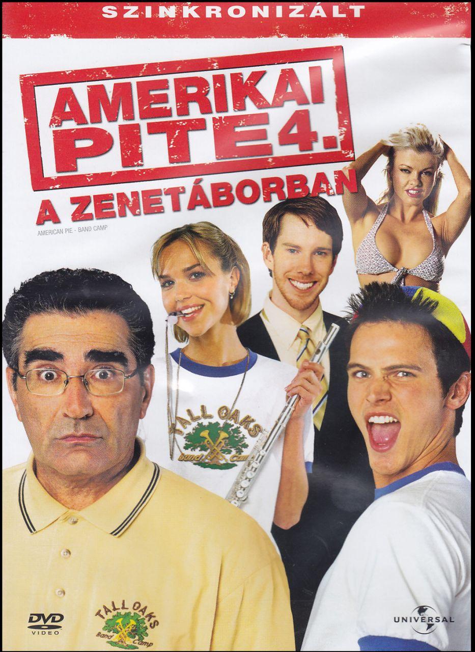 Amerikai pite 4. – A zenetáborban (DVD)