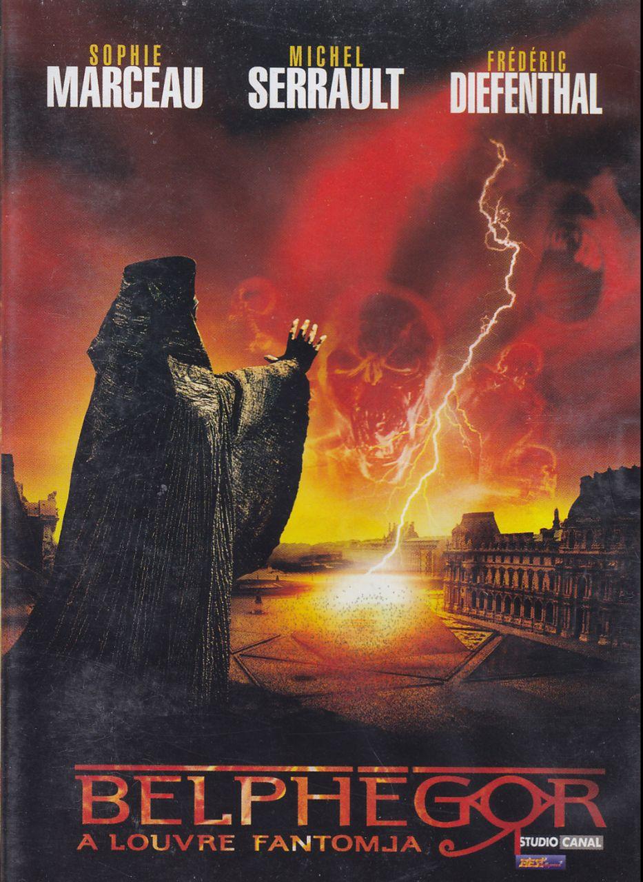 Belphegor – A Louvre fantomja (DVD)