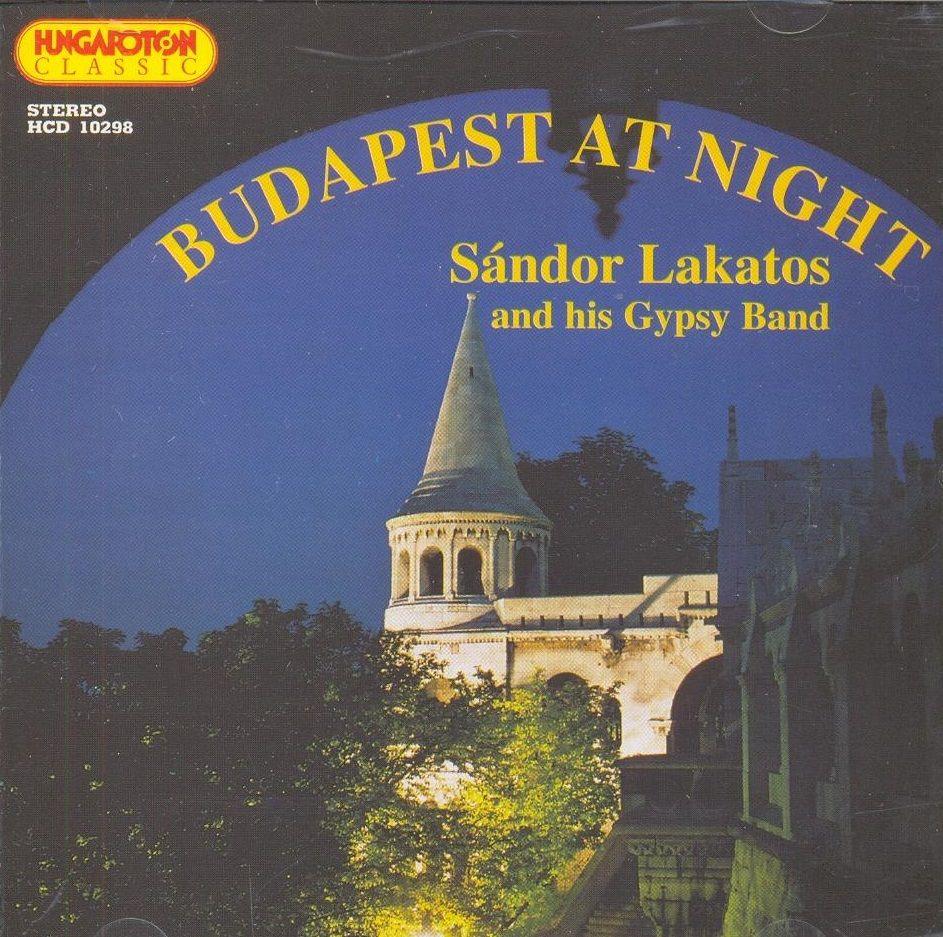 Budapest AT NGHT / Sándor Lakatos / (CD)