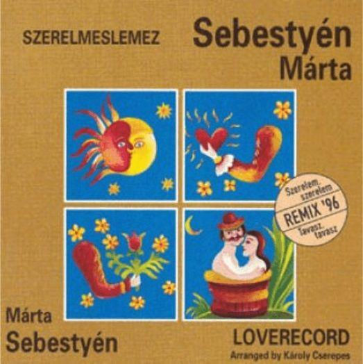 Sebestyén Márta: Szerelmeslemez (CD)