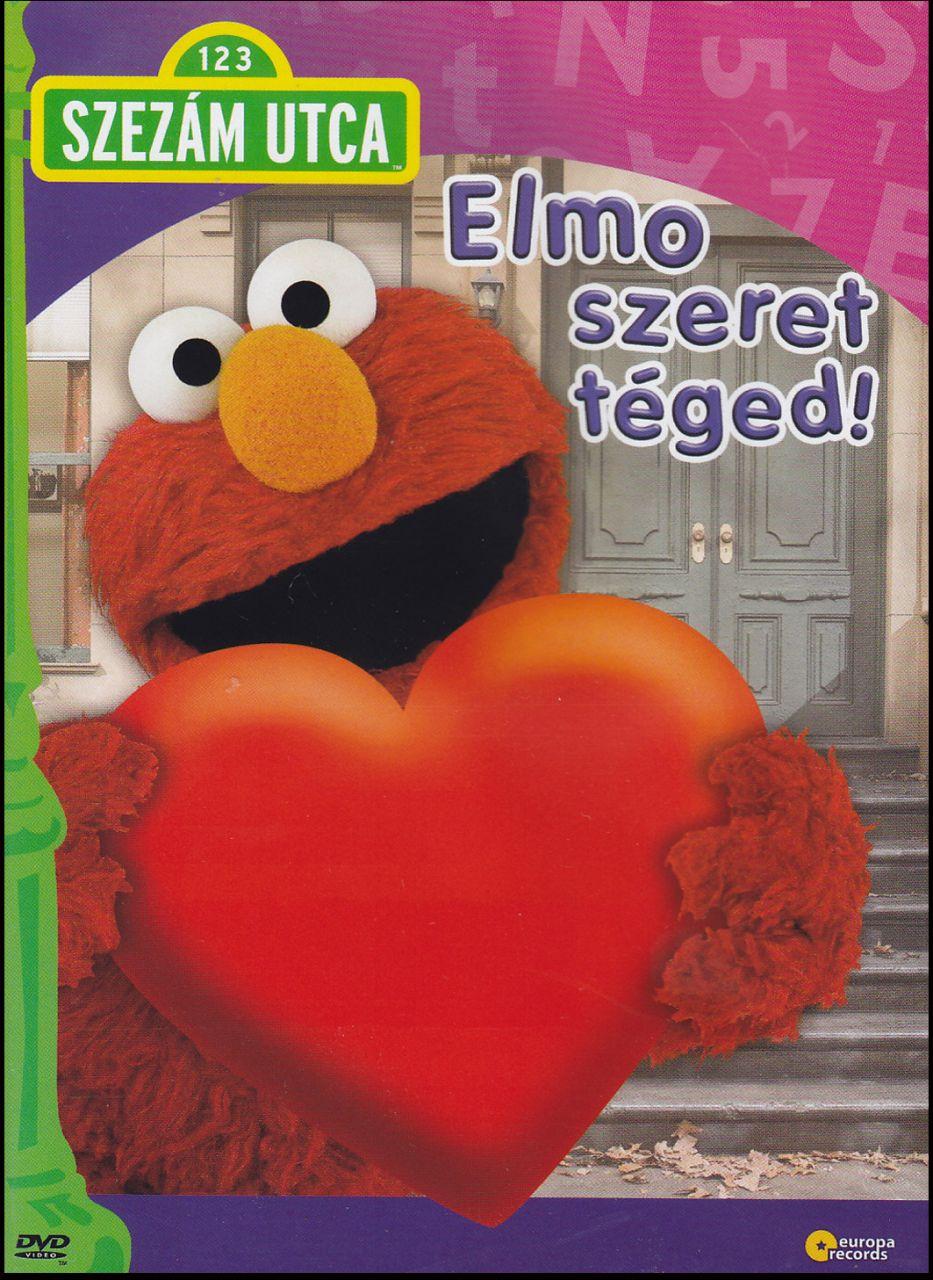 Szezám utca: Elmo szeret téged! (DVD)