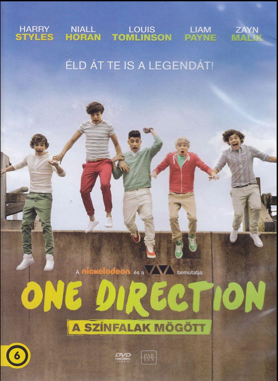 One Direction – A színfalak mögött (DVD)