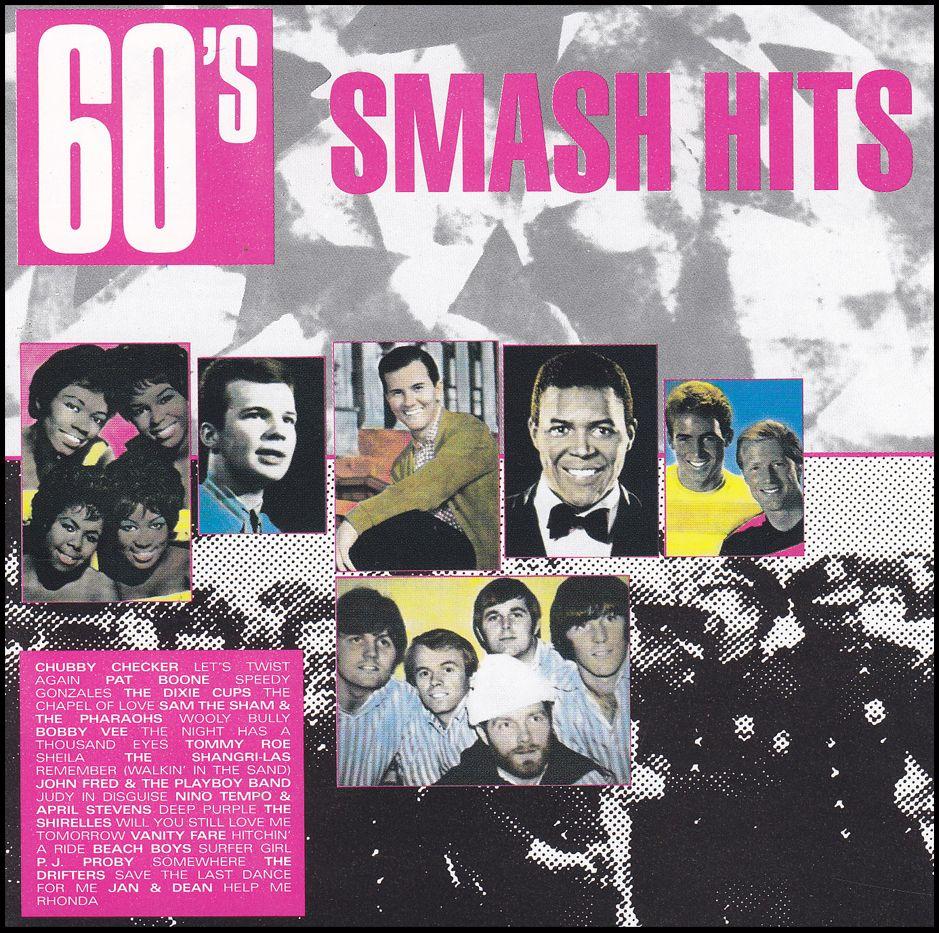 60's Smash Hits (CD)