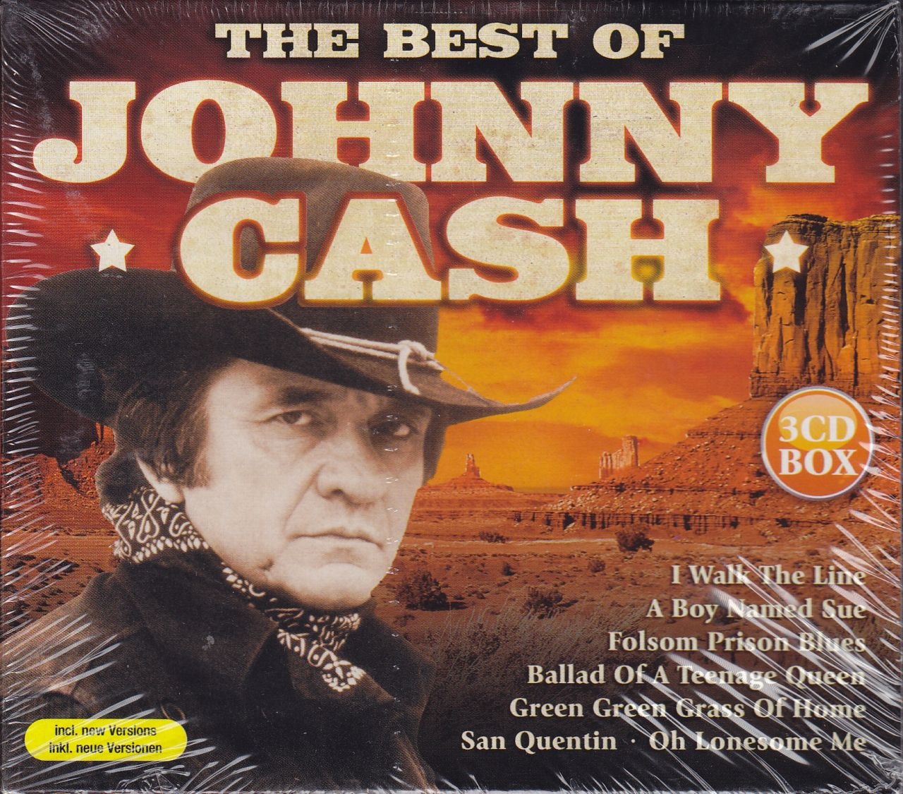 Johnny Cash: The Best of (3CD)