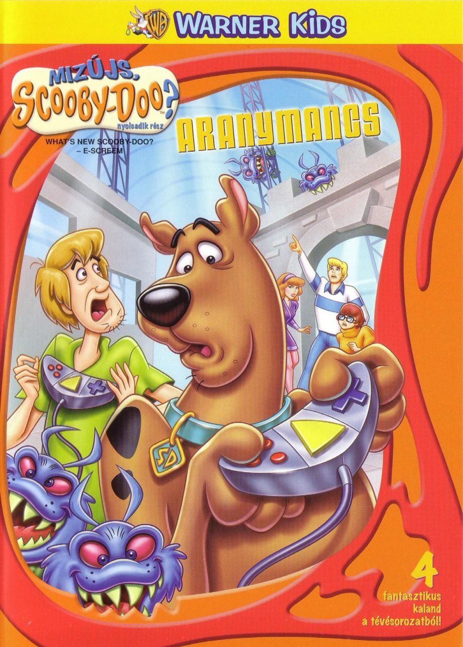 Mizujs. Scooby-Doo? 8. - Aranymancs (DVD)
