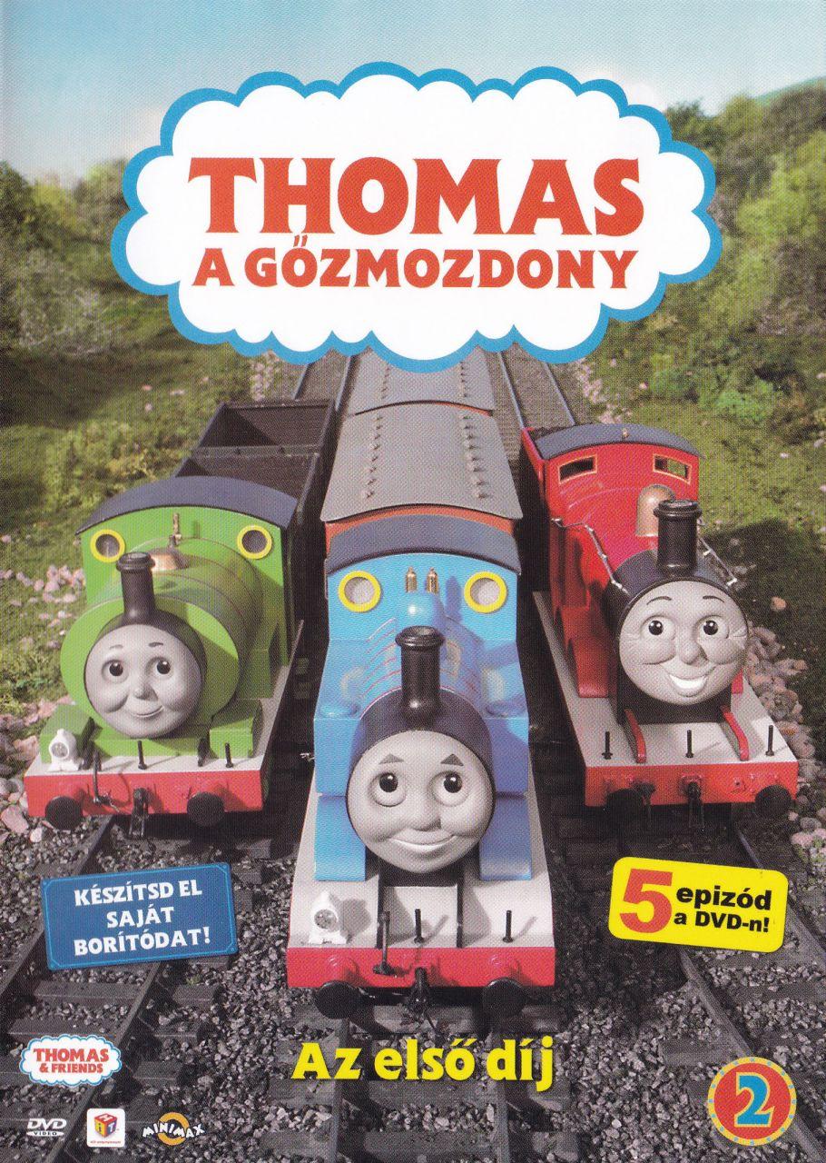Thomas, a gőzmozdony 2. - Az első díj (DVD)